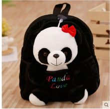 NKindergarten pupils Panda children's small schoolbag cartoon cute backpack children's opening gifts Christmas gifts(China)