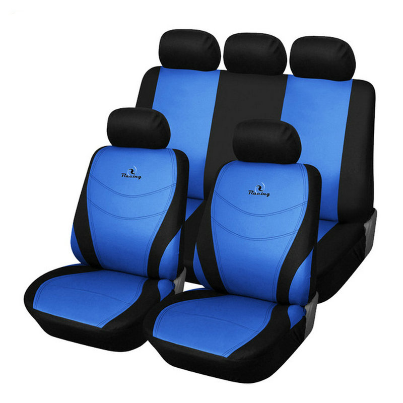 Racing Embroidery font b Car b font Seat Cover Universal Fit Most Auto Seat font b