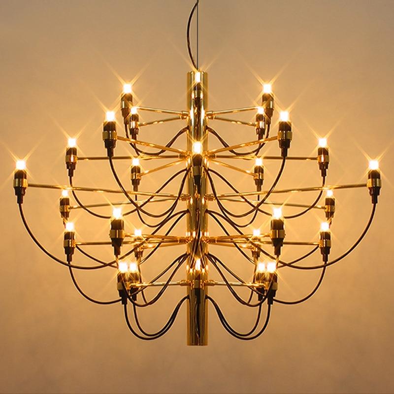 Modern Silver Gold 18/30/50 Heads Art Designer Summer Fruit Pendant Lights living room dining room hotel pendant lamp