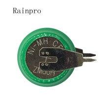 Rainpro 4 ピース/ロット 1.2 ボルト 80 mah ニッケル水素ニッケル水素電池とピン充電式ボタン電池タイマー
