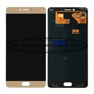 Image 1 - 100% נבדק באיכות גבוהה זהב 5.5 אינץ עבור GiONEE QMobile M6 GN8003 LCD תצוגה + מסך מגע Digitizer עצרת החלפה