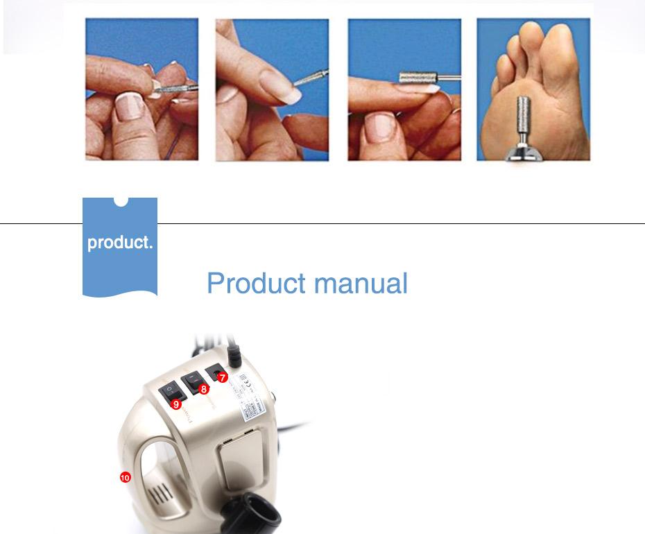 8 electric professional nail drill, professional nail drill, nail drill,Cheap electric professional nail drill, (11)
