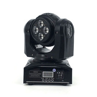 Top Rates Seller LED Double Sides Moving Head Light 4 X10W 1 X10W LED Beam Wash