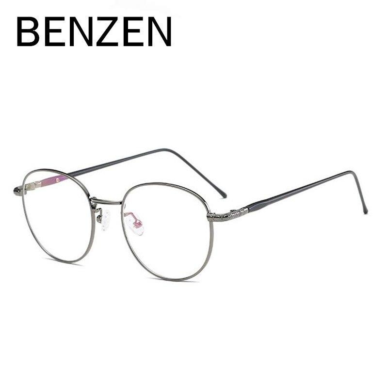 BENZEN Óculos Redondos Vintage Frame Mulheres Homens Miopia Óculos de  Armação Espetáculo Óculos Retro Óculos Com Caixa 5075 em Armações de óculos  de ... bf7a2d9506