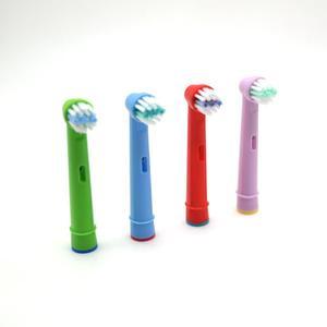 Image 5 - 交換子供子供歯ブラシヘッド B EB 10A プロ健康段階電動歯ブラシ口腔ケア (4 個)