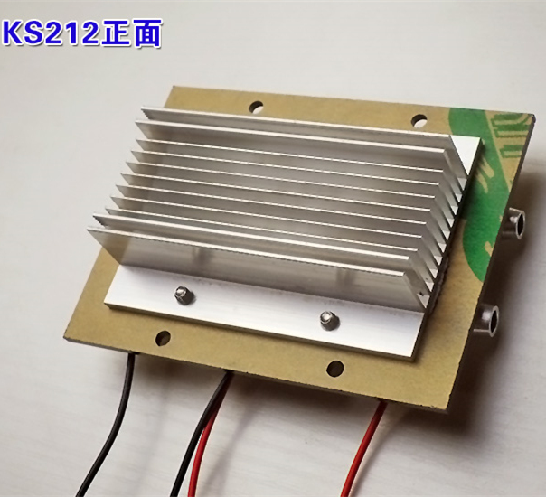 KS212 Semiconductor electronic Parr Peltier refrigeration film Small air conditioning water cooling, Aluminum radiator tec1 12708 65w semiconductor refrigeration part