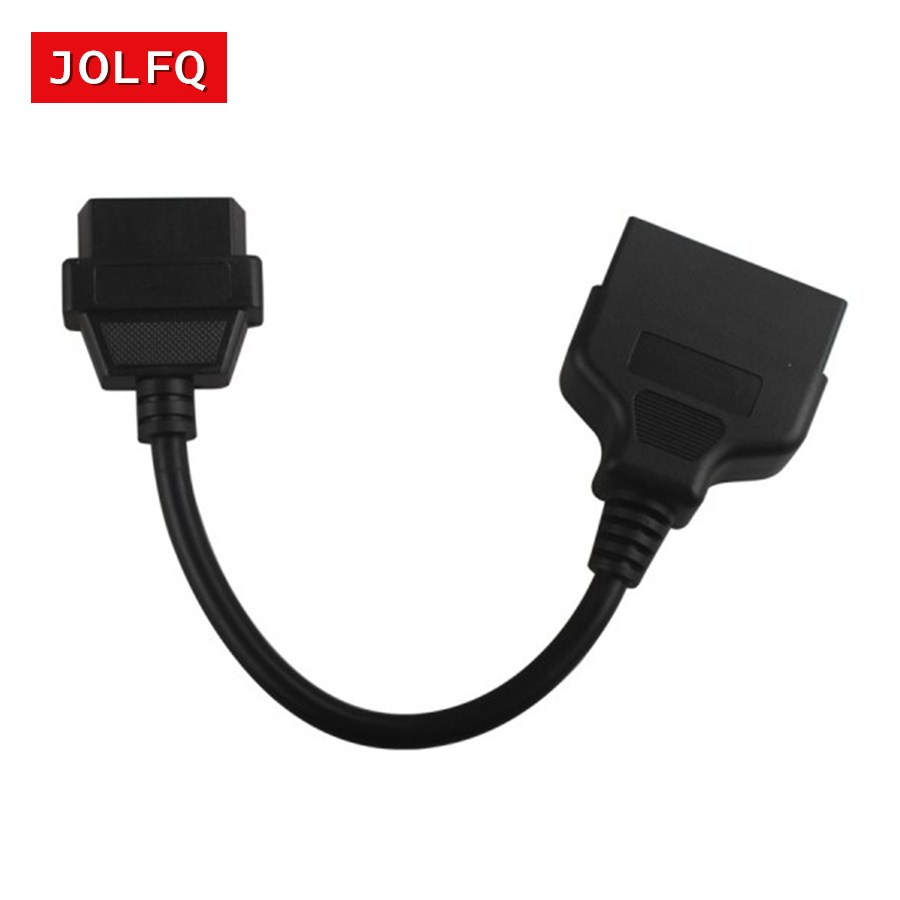 Obd Obd2 Diagnostic Connector 22 Pin To 16 For Toyota 22pin Wiring Connectors Obd1 Connect Cable Adapter