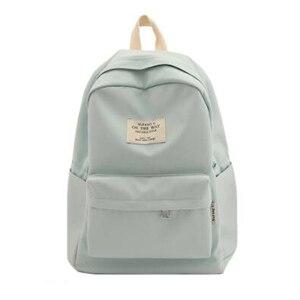 Image 3 - NuFangU Simple Design Oxford Korea Style Women Backpack Fashion Girls Leisure Bag School Student Book Teenager Useful Travel
