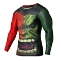 Super Hero The Hulk  3D Printed T-shirt Men Marvel Avengers 3 Fitness Clothing Male Crossfit Tee S-4XL