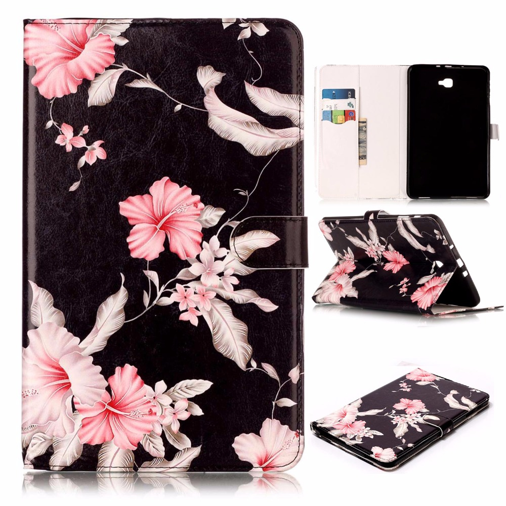 Painted Pattern Pu Leather sFor Samsung Galaxy Tab A 10.1 Case For Samsung Galaxy Tab A 10.1 T580 T585 Tablet Cover Case