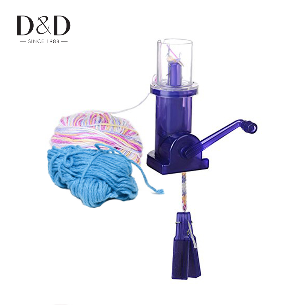 Needle Arts & Crafts Diy Chinese Knot Automatic Kniting Machine Woven Wire Winding Tools Handmade Ropes Craft Sweaters Chain Bracelets Maker