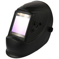 Solar Energy Automatic Dimming Welding Mask TIG Spot Welding Helmet Large Window and 4 Sensors External Adjustment DIN5 DIN13