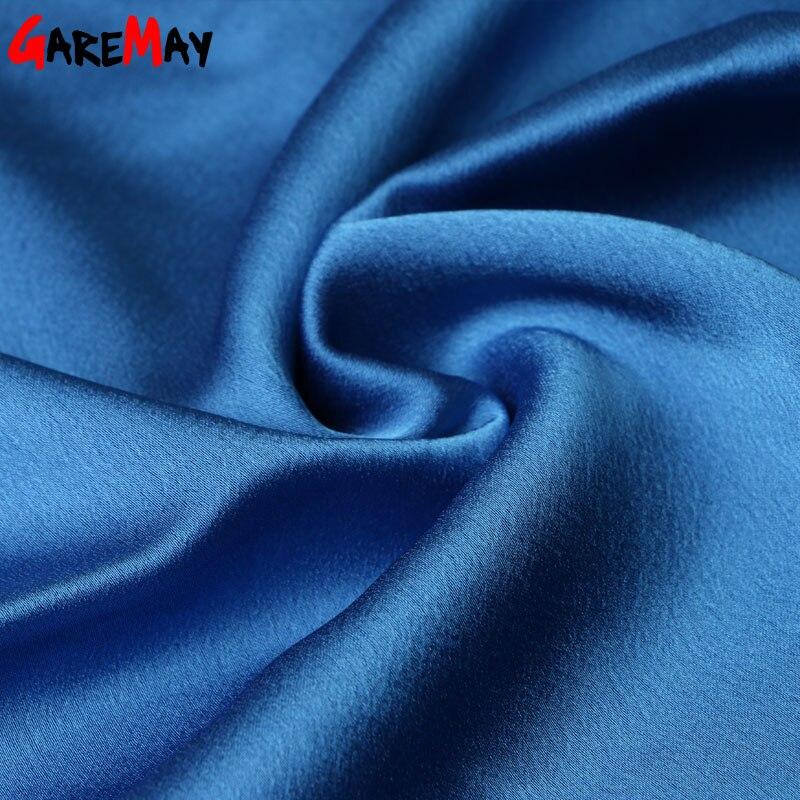 Kadın bluzlar 2020 yaz ipek şifon kadınlar için tops Zarif - Bayan Giyimi - Fotoğraf 6