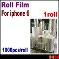 1 rollo para el iphone 6 4.7 6 g generación anti estática película protectora película de rollo de película asamblea LCD o contraportada cada conjunto 1000 unids