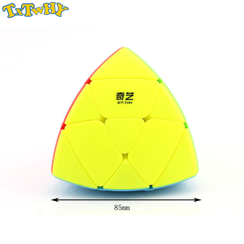 QIYI Mastermorphix Zongzi Dumpling Speed Magic Cube Stickerless Learning Educational Puzzle Cubo Magico Toys For Children