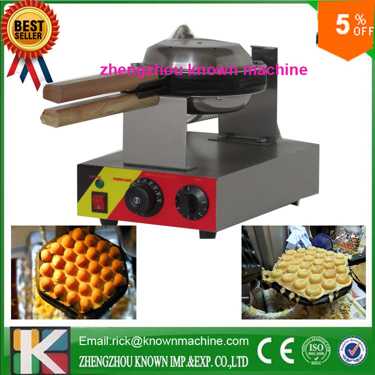 high quality 5% discount for electric hong kong egg waffle maker machine for commercial export eu hong kong waffle maker commercial for sale