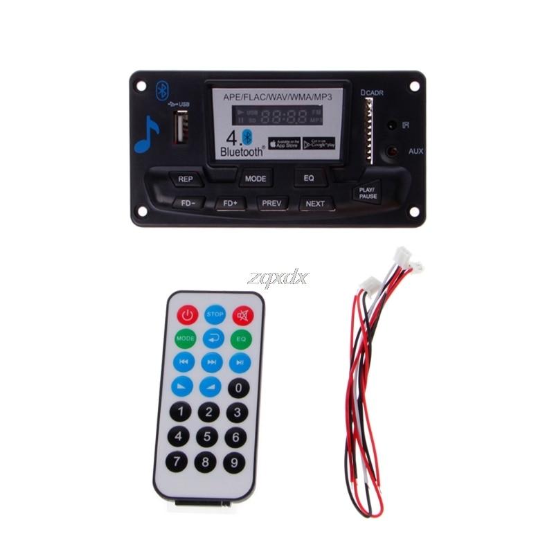 FäHig 4,0 Bluetooth Mp3 Decodierung Bord Modul Led 12 V Diy Usb/sd/mmc Ape Flac Wav Dae Decoder Rekord Mp3 Player Aux Fm Ordner Schalter Mp3-player Unterhaltungselektronik
