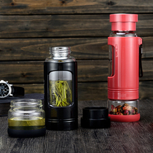 Luxury Multipurpose Eco-Friendly Glass Water Bottle