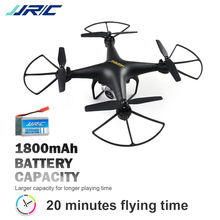 цена на New Discount JJR/C JJRC H68 RC Helicopter 20 Mins Long Fly Time RC Drone with 200W WIFI Adjustable Camera Quadcopter VS SYMA X5C