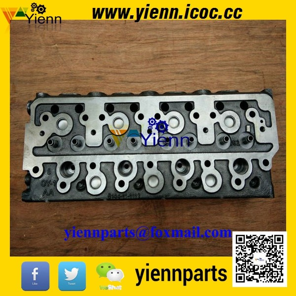 US $849 0 |KOMATSU 4D94 4D94 New Cylinder Head 6144 11 1112 for KOMATSU  D20A 5 D20P 5 D21P 5 D21PL 5 Bulldozers 4D94 diesel engine parts-in  Pistons,