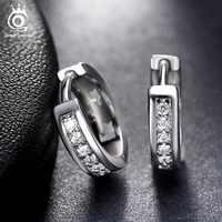 ORSA bijoux 2019 nouveauté sans plomb et sans Nickel classique argent couleur boucles d'oreilles mode oreille bijoux pour les femmes en gros OE101