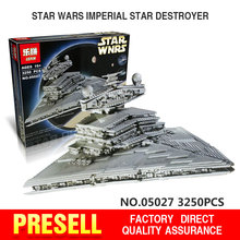 LEPIN 05027 3250Pcs Star Wars Emperor fighters starship Model Building Kit Blocks Bricks Toy Compatible