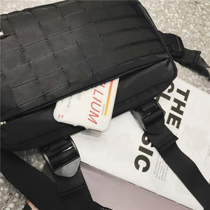 Image 5 - ผู้ชาย RIG hip hop streetwear กระเป๋าสำหรับชายกระเป๋าสะพายกระเป๋าทหารยุทธวิธียุทธวิธีเอวกระเป๋าเอวแพ็ค