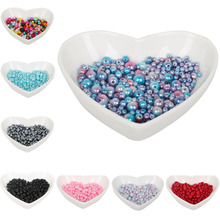 4mm – 10mm mixed packaging  ten colors, ABS imitation pearl beads, jewelry DIY beads, jewelry handmade necklace