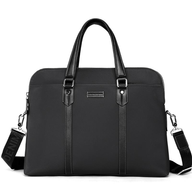 Brand BISON DENIM Mens Briefcases Men Shoulder Bags Brand Handbag Messenger Bag Travel Tote Laptop Bag 14 inch Brand BISON DENIM Mens Briefcases Men Shoulder Bags Brand Handbag Messenger Bag Travel Tote Laptop Bag 14 inch