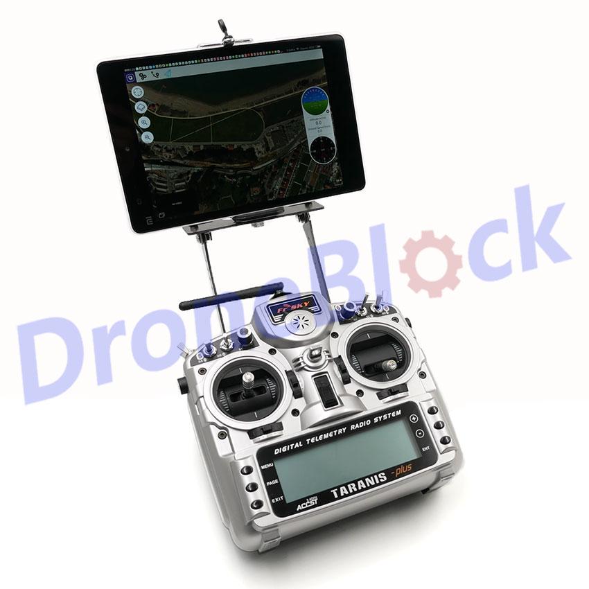 FPV iPad tablet Holder RC Transmitter Clip Mounting bracket Monitor Mount  for FrSky X9D Q X7 RadioLink RT9S RT10 Walkera D7e D10