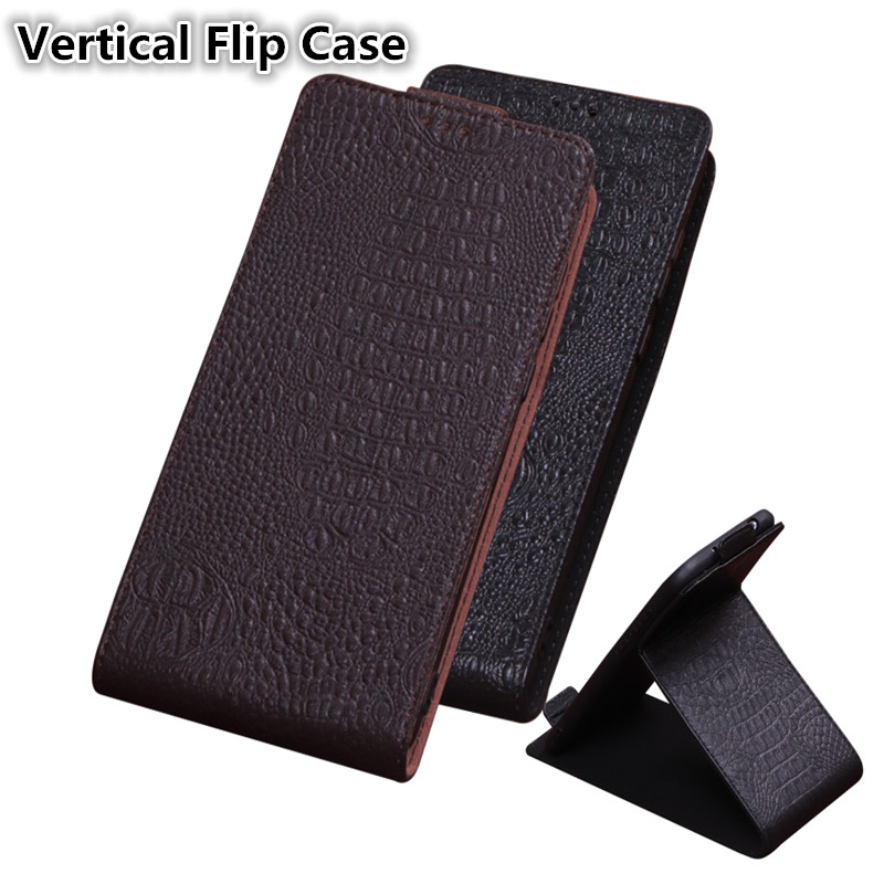 QX09 Luxury Flip Vertical Genuine Leather Phone Case For Sony Xperia Z5 Compact Case For Sony Xperia Z5 Mini Vertical Flip Case