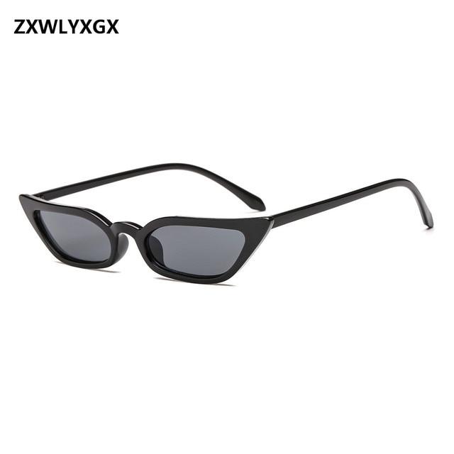 fe10984147 ZXWLYXGX 2018 nueva moda pequeña caja gafas de sol Europa y los Estados  Unidos tendencia individuales
