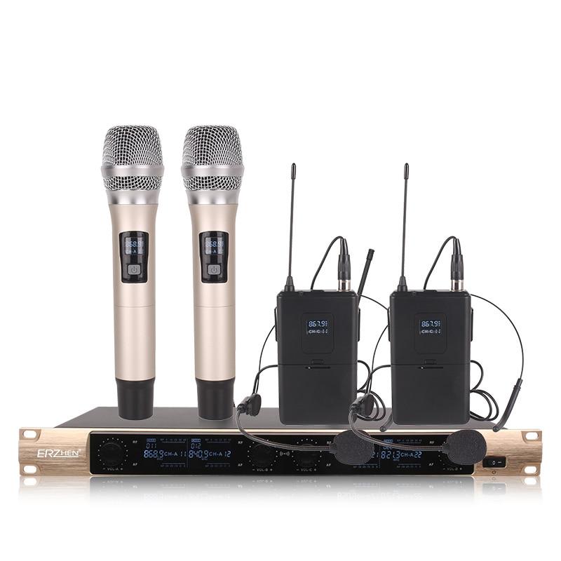 Envío gratis Sistema de Micrófono Inalámbrico X-4600 Micrófono - Audio y video portátil - foto 3