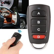 433mhz Metal Copy Universal Remote Control Learning Type 4 Buttons Wireless For Gates k5