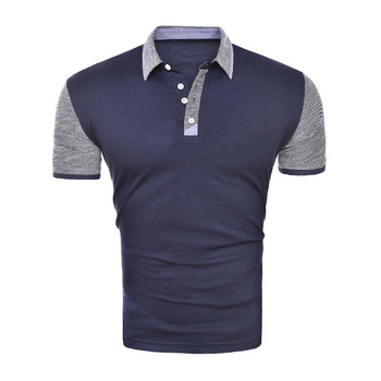 Zogaa Brand Clothing Men Business Casual Short Sleeve Solid Male Polos Breathable Jerseys Summer Mens Slim Fit Polo Shirts 1