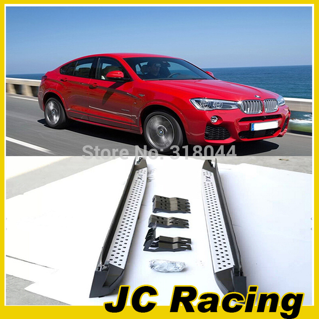Top selling Aluminium Alloy side running board, car Door Pedal for BMW X4(Fits for BMW X4 2014)