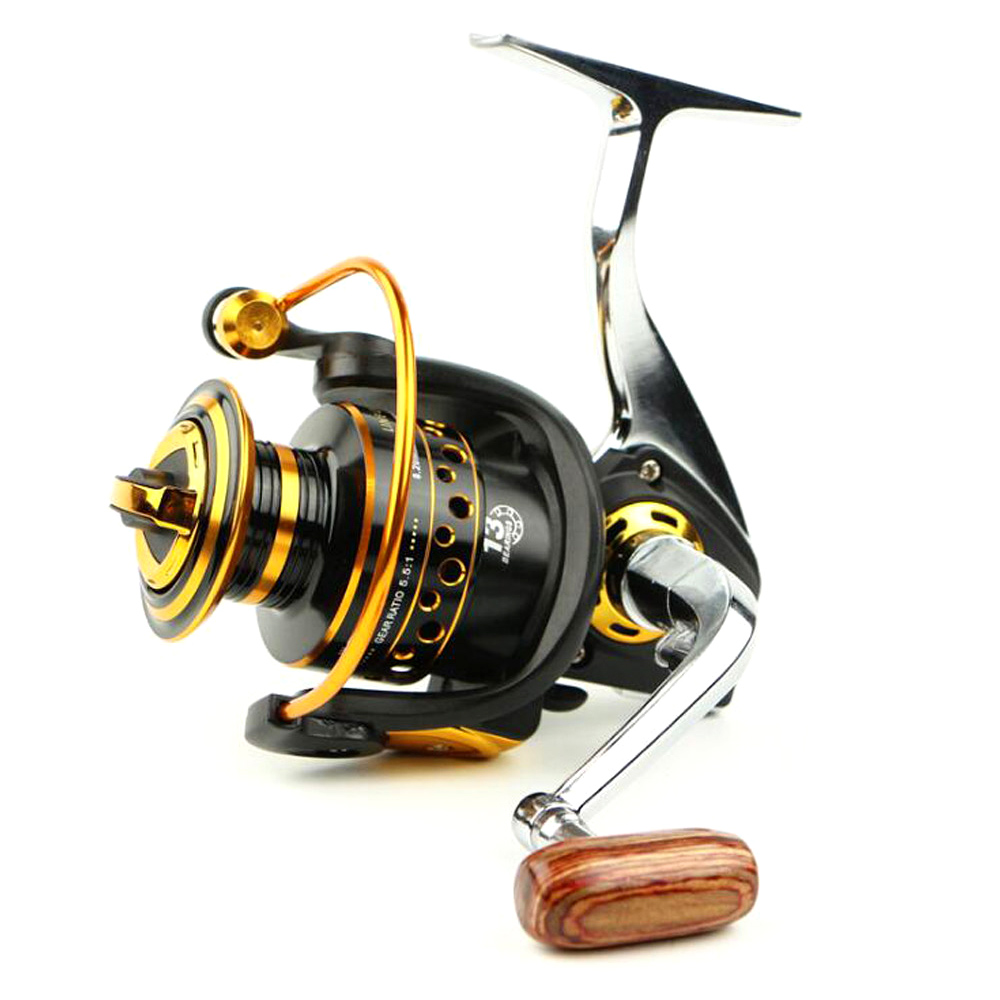 Metal Spinning font b Fishing b font Reel 13Bearing Balls BQ1000 7000 Series Spinning Reel Boat
