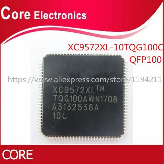 450PCS XC9572XL 10TQG100C XC9572XL 10TQG XC9572XL IC CPLD 72MC 10NS 100TQFP QFP100