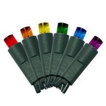 50 штук 5 мм мини светодиодные лампы разноцветные гирлянды для