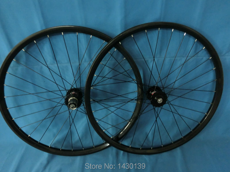 New 29 Mountain bike clincher rim 3K full carbon wheelset disc brake 29 inch carbon bicycle wheelset 29er MTB parts Free ship mountain bike four perlin disc hubs 32 holes high quality lightweight flexible rotation bicycle hubs bzh002
