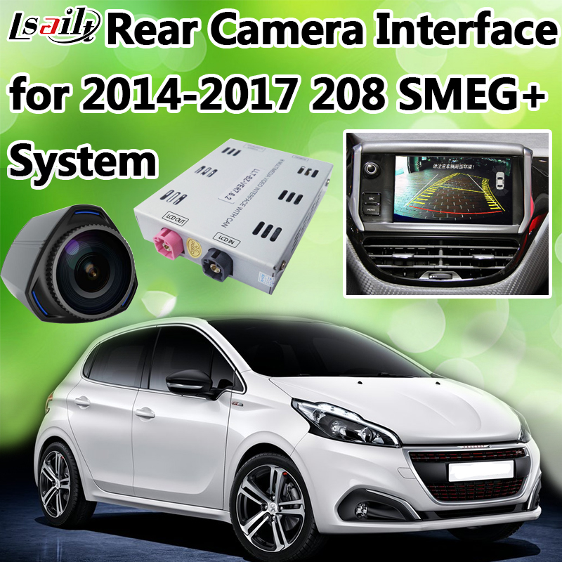 Reverse Camera Interface For 2014 2017 Peugeot 208 Smeg Support 360 Panorama Cameras Miracast Interface Interface Peugeot Aliexpress