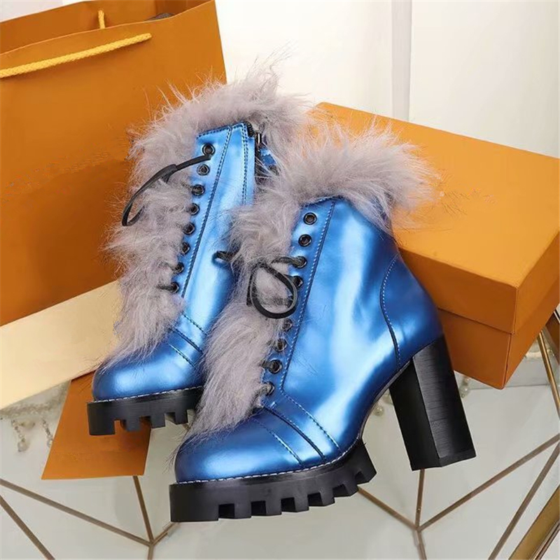 Из натуральной кожи Обувь на теплом меху женские ботильоны пикантные туфли очень высокий каблук женские ботиночки платье сапоги ботинки ...