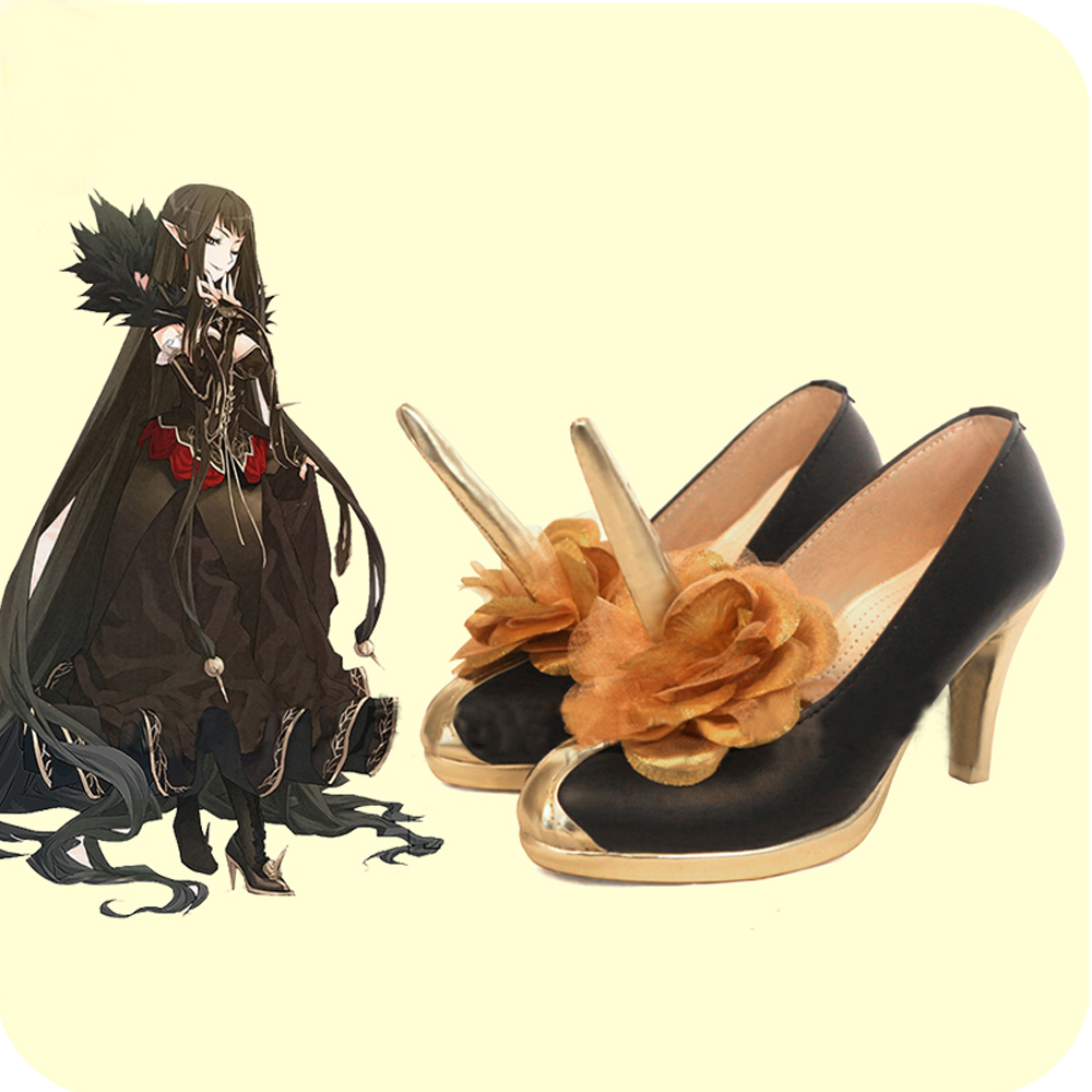 Fate Grand Order FGO Semiramis Sammu-ramat Cosplay Shoes Boots Superhero Halloween  Carnival Party Costume Accessories