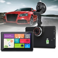 902 Universal 7 Inch 1080P Car DVR Recorder MP3 MP4 Player With Android GPS Navigation Supprt