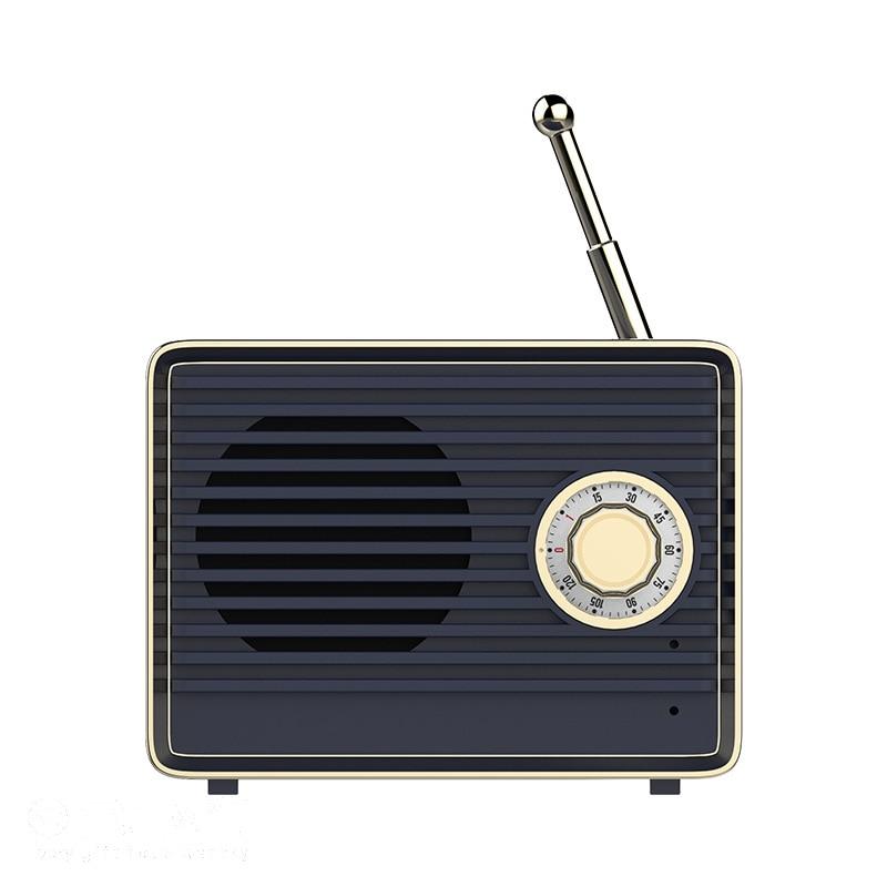 Retro Bluetooth Speaker Music Box Original loudSpeakers Trumpet Radio StylePortable Mini Wireless Sound Box Personality