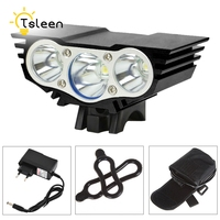 49 Off TSLEEN 6000LM Cree XM L T6 Front LED Bicycle Light Rechargeable Bike Lamp Outdoor