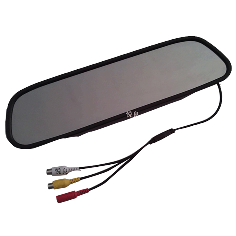 5 Inch TFT LCD Car Rear View Mirror Monitor for Backup Camera CCD Video Auto Parking Assistance Reversing Car-styling kkmoon 5 tft lcd display car rear view bracket mirror monitor parking assistance with mini camera for car truck bus trailer
