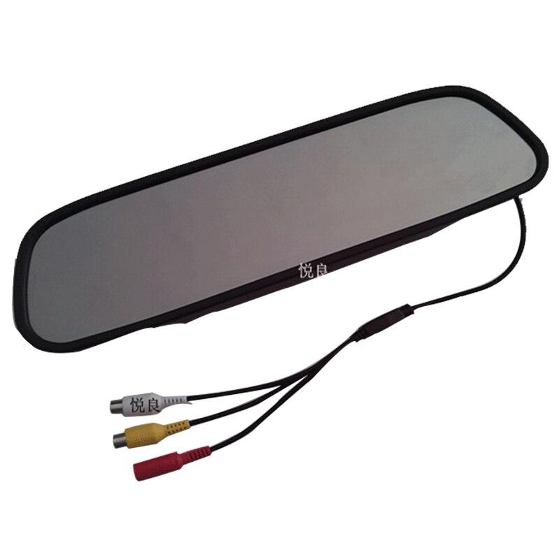 5 Pollice TFT LCD Car Rear View Mirror Monitor per il Backup Telecamera CCD Video Auto Assistenza di Parcheggio Retromarcia Auto-styling