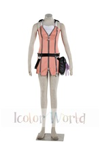 New Kingdom Hearts Kairi Cosplay Costume Halloween Costumes