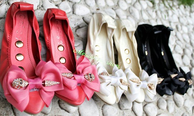 Free Shipping,Womens Shoes,Size 35-39,Sweetie Bow Pointed Toe Skull Casual Shoes